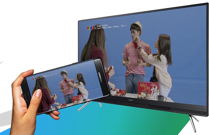 Chiếu màn hình tivi xuống điện thoại không cần dây cáp