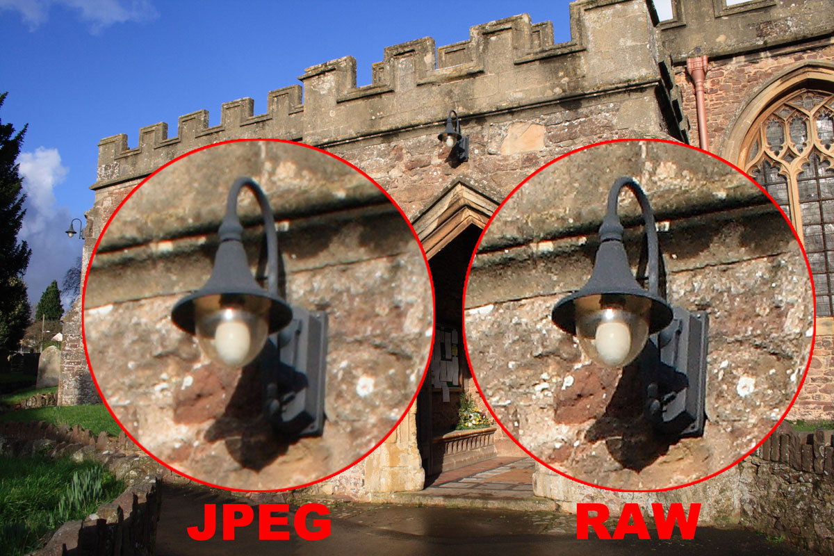 RAW vs JPEG Difference