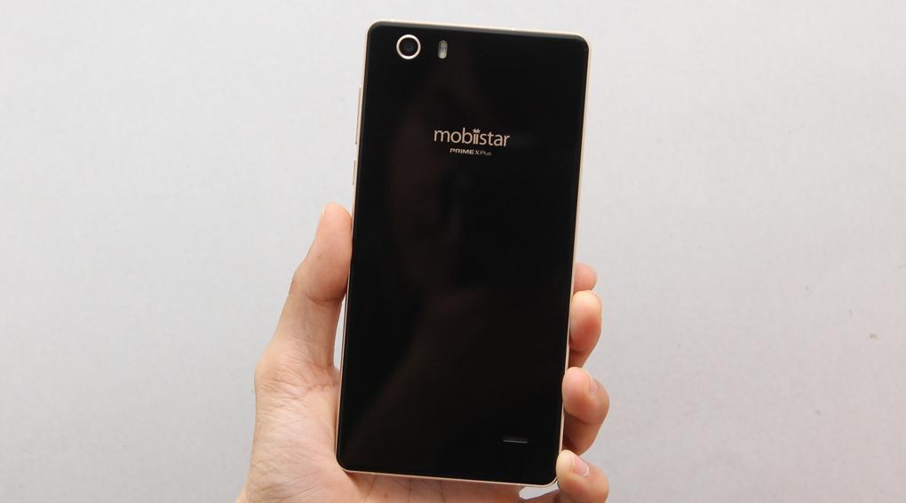 Mobiistar Prime X Plus có camera trước 5MP, camera sau 8MP kèm đèn LED Flash