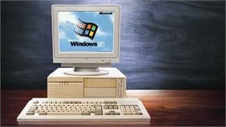 """Cùng trải nghiệm lại Windows 95, một """"anh cả"""" trong làng hệ điều hành"""