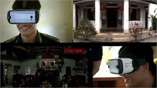 Nhờ kính thực tế ảo, lính đảo xa được đoàn viên với gia đình ở quê