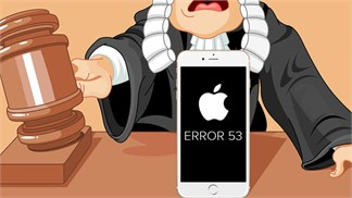 Apple đối mặt bồi thường đến 5 triệu USD vì lỗi 'Error 53'