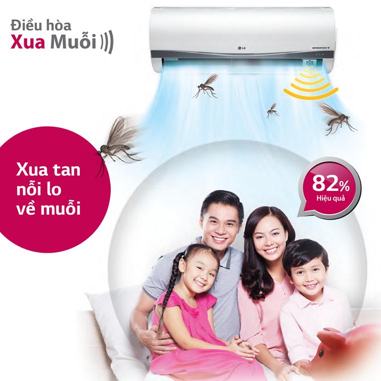 Chế độ đuổi muỗi bảo vệ sức khỏe cho gia đình