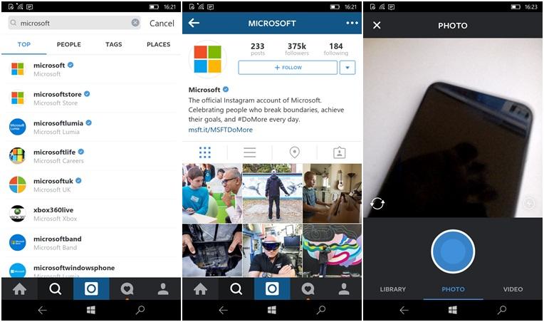 Đã có ứng dụng Instagram đầy đủ tính năng cho Window Phone