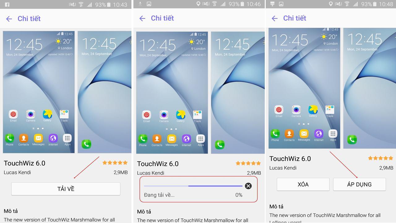 Hướng dẫn cài Touchwiz 6.0 3