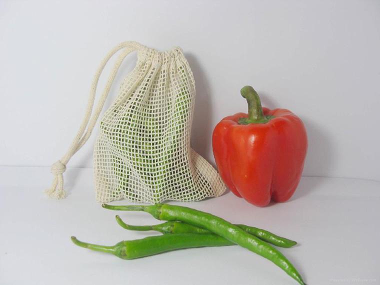 Các bạn nên sử dụng túi lưới để bảo quản trái cây trong tủ lạnh