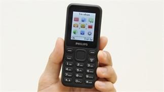 """Philips tung điện thoại """"cục gạch"""" giá chưa tới 300 ngàn tại Việt Nam"""