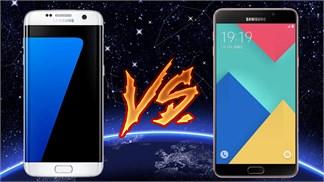 Speedtest Galaxy S7 Edge vs Galaxy A9: Snapdragon 652 đại chiến Exynos 8890
