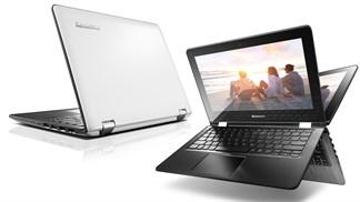 Đặt hàng laptop biến hình, màn hình cảm ứng Lenovo nhận nhiều quà tặng hấp dẫn