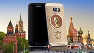 Cùng ngắm Galaxy S7 phiên bản Putin siêu sang chảnh