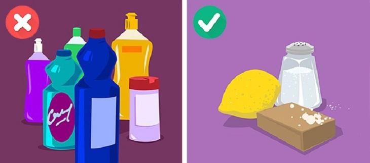 Và không phải cứ bột giặt đắt tiền, chất tẩy rửa mạnh thì sẽ giúp áo quần thêm sạch hơn