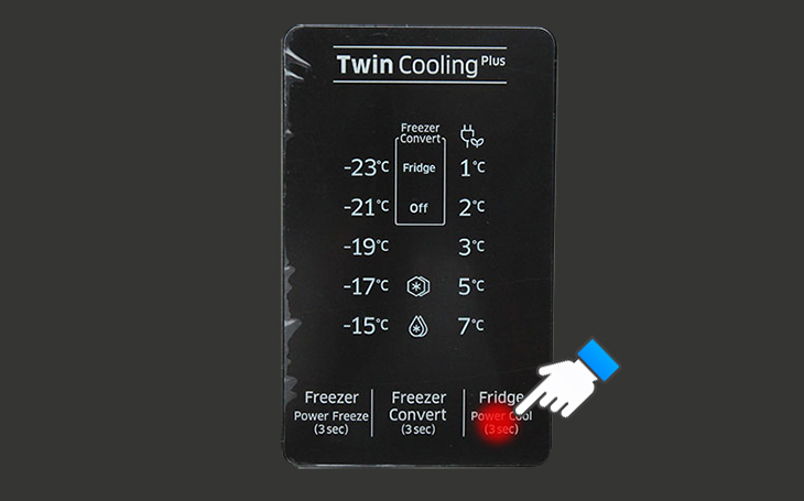 Điều chỉnh nhiệt độ ngăn lạnh