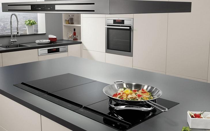 Bếp từ phù hợp với mọi không gian bếp