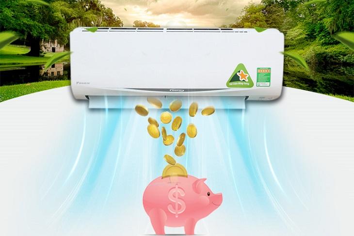 Điều hòa Daikin tiết kiệm điện