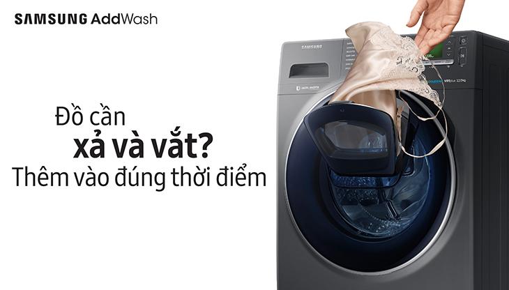 không bao giờ bỏ sót bất kì quần áo nào và không cần đợi đến lần giặt tiếp theo