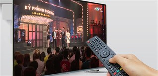 Cách dò kênh trên Smart tivi Skyworth 2016