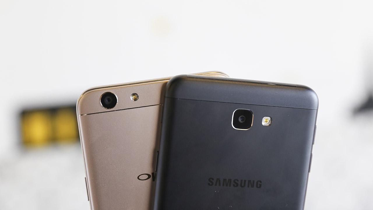 Ket Qua Hinh Anh Cho Samsung Galaxy J7 Prime Vs OPPO F1s