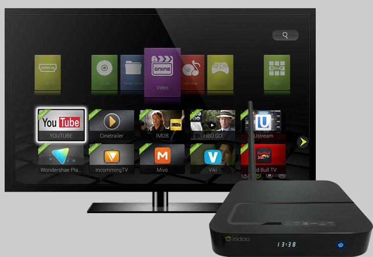 Android tivi sẽ biến tivi thường thành Smart tivi