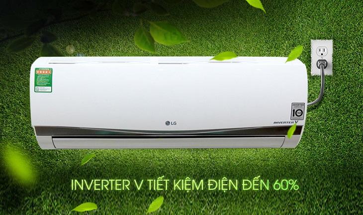 Công nghệ Inverter của điều hòa 1 chiều LG có thể kiểm soát ổn định được năng lượng