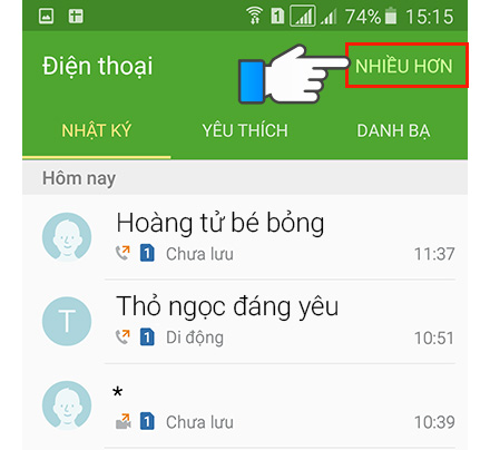 Cách chặn cuộc gọi tránh bị làm phiền trên smartphone Samsung