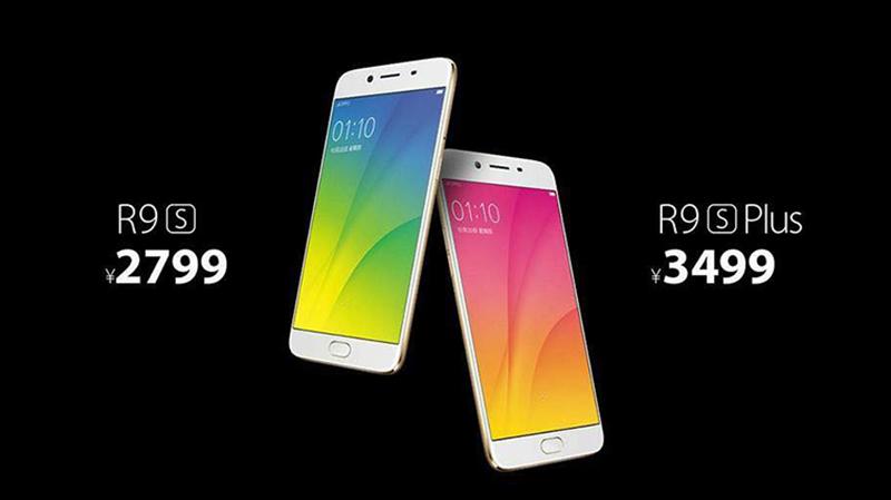 OPPO R9s và R9s Plus chuyên selfie 16 MP ra mắt, RAM 6 GB