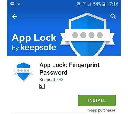 Cài đặt Applock