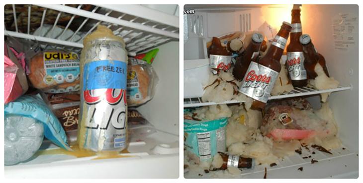 Description: Nguyên nhân nước phát nổ bên trong tủ lạnh