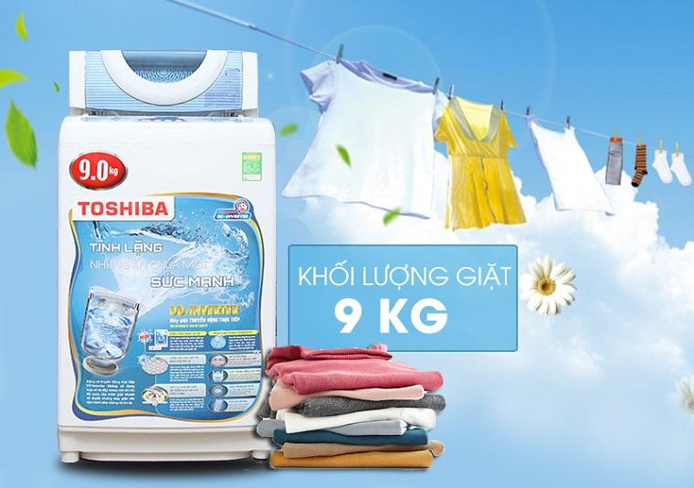 Máy giặt Toshiba 9kg AW-DC1005CV