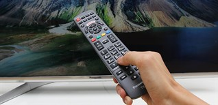 Cách sử dụng remote tivi Panasonic DX650V, DX700V, DX900V