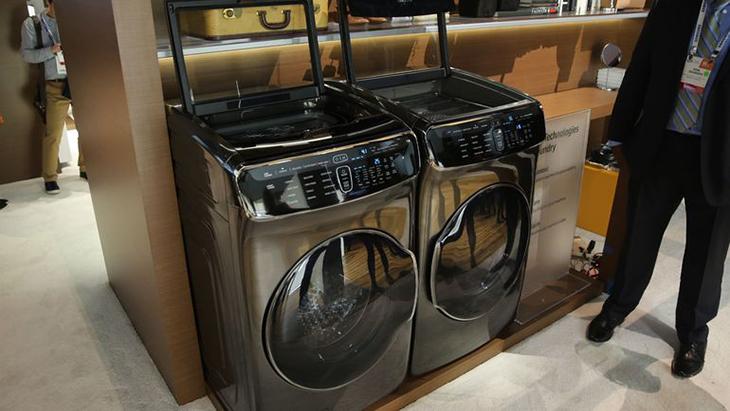 Bộ đôi máy giặt sấy FlexWash & FlexDry từ Samsung