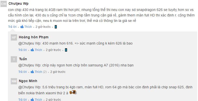 Người dùng Việt Nam nói gì khi Nokia 6 ra mắt trở lại? - 164194