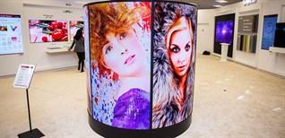 Chiêm ngưỡng màn hình OLED tại phòng trưng bày của LG Display
