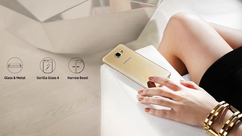 Samsung Galaxy A9 Pro sở hữu thiết kế nhôm kính sang trọng
