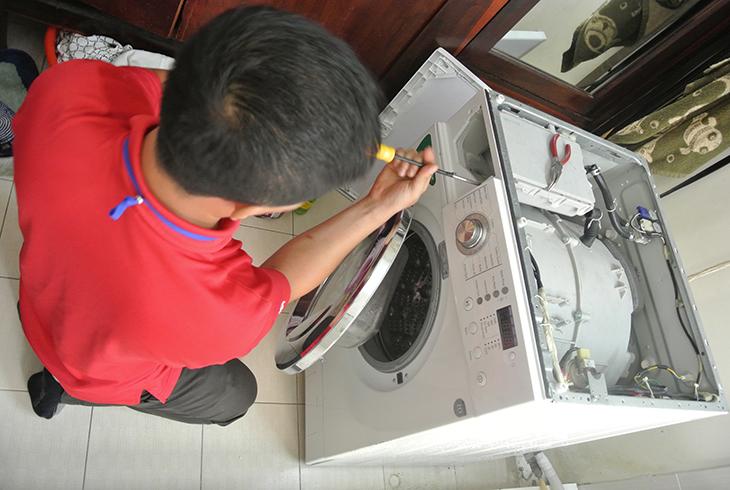 máy giặt không tự tắt nguồn