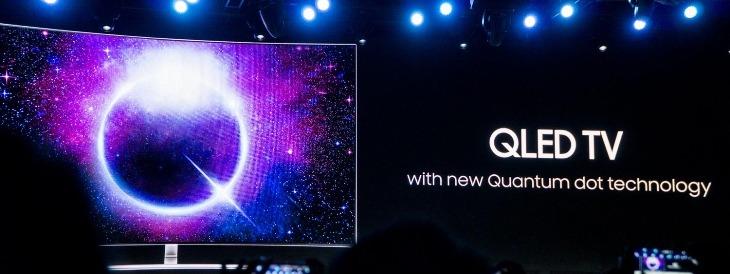 QLED sử dụng công nghệ Chấm lượng tử mới