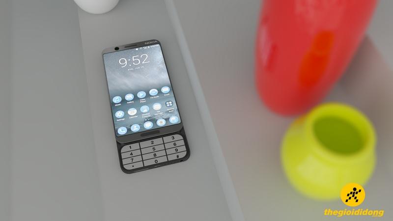MWC 2017: Xuất hiện mẫu Nokia 8 với bàn phím trượt cực kỳ độc đáo