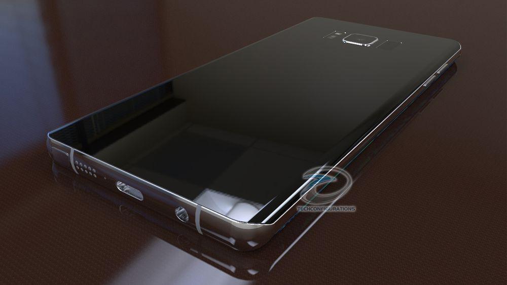 Chiêm ngưỡng mẫu thiết kế Galaxy Note 8 đẹp không tỳ vết
