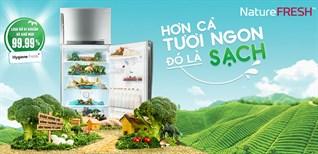 Công nghệ NatureFRESH+™ trên tủ lạnh LG