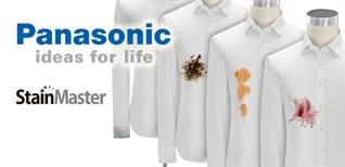 Công nghệ giặt nước nóng StainMaster+ trên máy giặt Panasonic