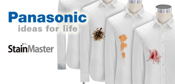 Công nghệ giặt nước nóng Stain Master trên máy giặt Panasonic