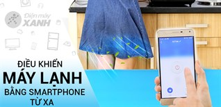 Tính năng điều khiển điều hòa bằng Smartphone trên điều hòa Gree