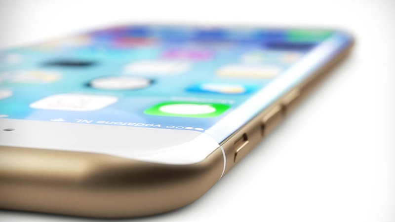 Apple sẽ dùng kính cong cho các dòng iPhone tiếp theo?