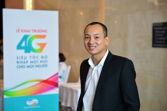 Ông Phan Hà Trung - PCT Phụ trách Kinh doanh Ericsson Việt Nam.