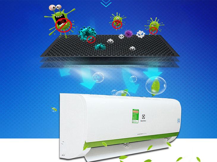 máy lạnh Electrolux Inverter 9000 BTU ESV09CRK-A4