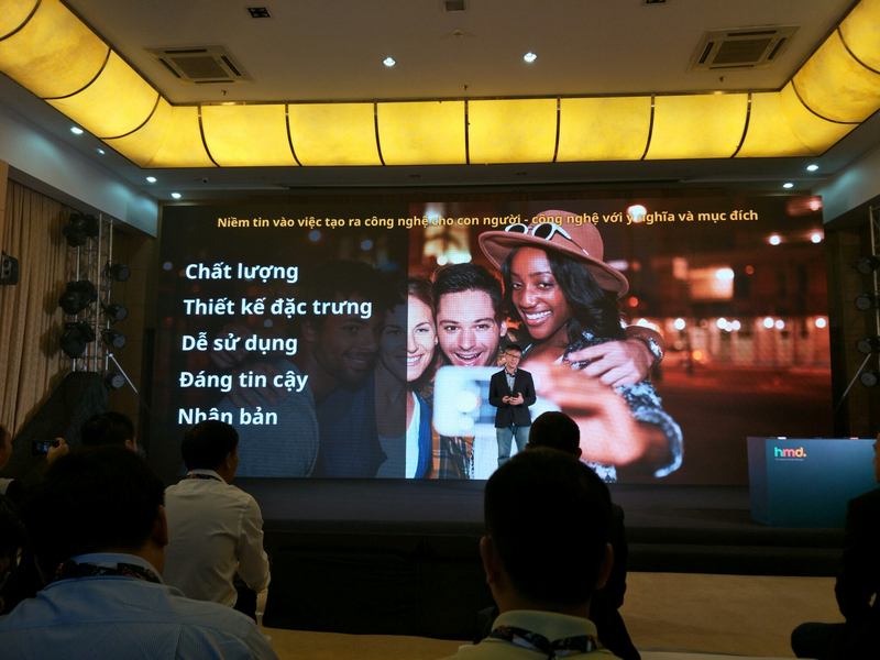 sự kiên ra mắt Nokia