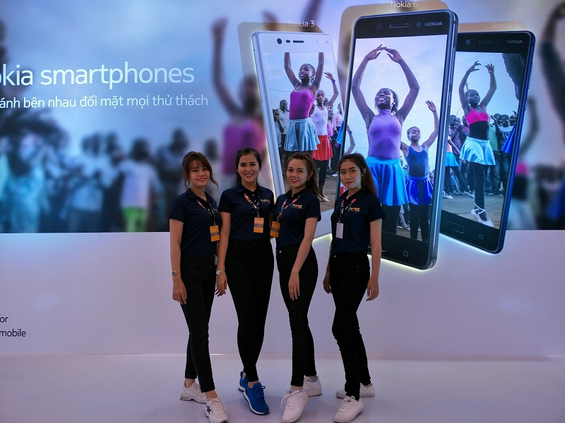 sự kiện ra mắt Nokia