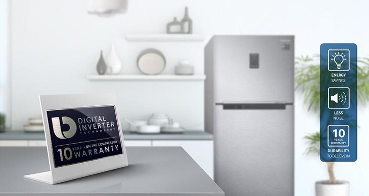Tủ lạnh Samsung 234 lít RT22M4033S8/SV