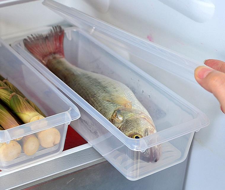 Rã đông từ từ ở ngăn mát tủ lạnh