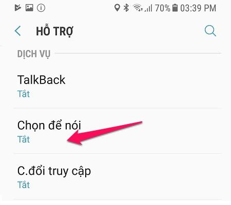 Để smartphone đọc cho bạn nghe mọi văn bản, kể cả Tiếng Việt