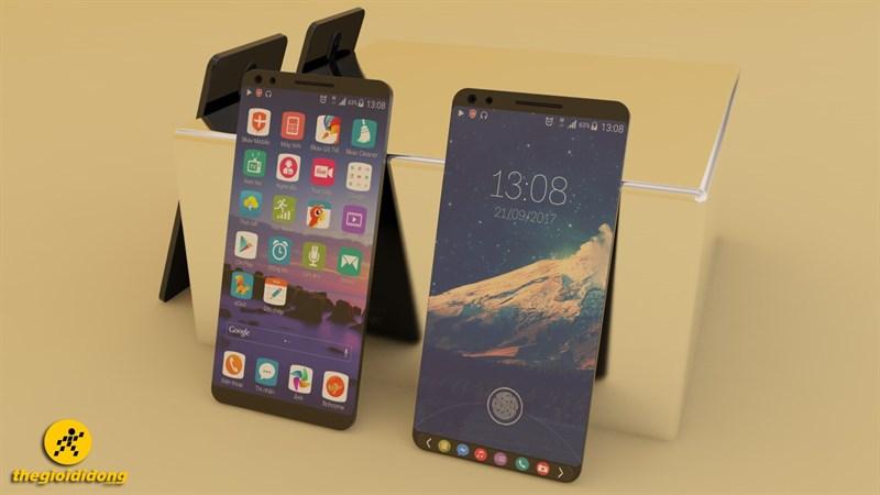 Concept Bphone 2 với thiết kế không viền, màn hình kép cùng camera kép ấn tượng